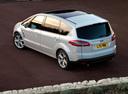 Фото авто Ford S-Max 1 поколение [рестайлинг], ракурс: 135 цвет: белый