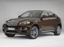 Фото авто BMW X6 E71 [рестайлинг], ракурс: 45 цвет: коричневый