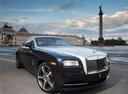 Фото авто Rolls-Royce Wraith 2 поколение, ракурс: 315 цвет: черный