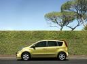 Фото авто Nissan Note E11, ракурс: 90 цвет: желтый