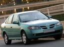 Фото авто Nissan Almera N16 [рестайлинг], ракурс: 315 цвет: аквамарин