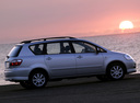 Фото авто Toyota Avensis Verso 1 поколение [рестайлинг], ракурс: 270