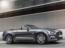 Фото авто Ford Mustang 6 поколение, ракурс: 270 цвет: серый