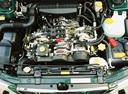 Фото авто Subaru Forester 1 поколение [рестайлинг], ракурс: двигатель