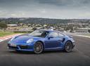 Фото авто Porsche 911 991 [рестайлинг], ракурс: 45 цвет: синий