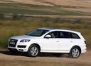 Фото авто Audi Q7 4L [рестайлинг], ракурс: 45 цвет: белый
