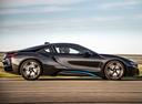 Фото авто BMW i8 I12, ракурс: 270 цвет: серый