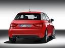 Фото авто Audi A1 8X, ракурс: 180 цвет: красный