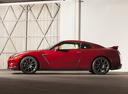 Фото авто Nissan GT-R R35 [2-й рестайлинг], ракурс: 90 цвет: красный