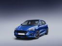 Фото авто Ford Focus 4 поколение, ракурс: 45 цвет: синий