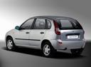 Фото авто ВАЗ (Lada) Kalina 1 поколение, ракурс: 135 цвет: серебряный
