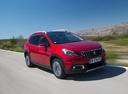 Фото авто Peugeot 2008 1 поколение [рестайлинг], ракурс: 315 цвет: красный