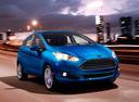 Фото авто Ford Fiesta 6 поколение [рестайлинг], ракурс: 315 цвет: голубой