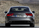 Фото авто Audi RS 7 4G, ракурс: 180 цвет: серый