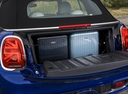 Фото авто Mini Cabrio F57 [рестайлинг], ракурс: багажник цвет: синий