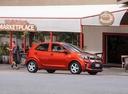 Фото авто Kia Picanto 3 поколение, ракурс: 315 цвет: оранжевый