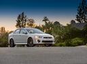 Фото авто Mitsubishi Lancer X [2-й рестайлинг], ракурс: 315 цвет: белый