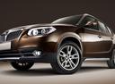 Фото авто Brilliance V5 1 поколение, ракурс: 45 - рендер цвет: коричневый