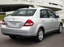 Фото авто Nissan Tiida C11 [рестайлинг], ракурс: 225 цвет: белый