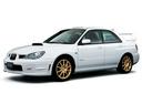 Фото авто Subaru Impreza 2 поколение [2-й рестайлинг], ракурс: 45 цвет: белый