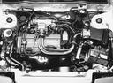 Фото авто Nissan Langley N12, ракурс: двигатель