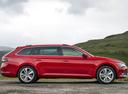 Фото авто Skoda Superb 3 поколение, ракурс: 270 цвет: красный