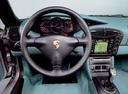Фото авто Porsche Boxster 986, ракурс: рулевое колесо