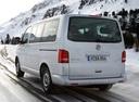 Фото авто Volkswagen Multivan T5 [рестайлинг], ракурс: 135 цвет: серебряный