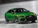 Фото авто Audi RS 5 F5, ракурс: 315 цвет: зеленый