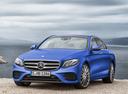 Фото авто Mercedes-Benz E-Класс W213/S213/C238/A238, ракурс: 45 цвет: голубой