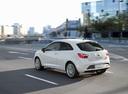 Фото авто SEAT Ibiza 4 поколение [рестайлинг], ракурс: 135 цвет: белый