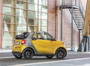 Фото авто Smart Fortwo 3 поколение, ракурс: 270 цвет: желтый
