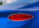 Фото авто Bentley Continental GT 3 поколение, ракурс: задние фонари цвет: голубой