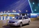 Фото авто Nissan Teana J31, ракурс: 45 цвет: серебряный