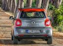 Фото авто Smart Forfour 2 поколение, ракурс: 180 цвет: серый