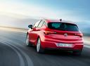 Фото авто Opel Astra K, ракурс: 180 цвет: красный