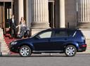 Фото авто Mitsubishi Outlander XL [рестайлинг], ракурс: 90 цвет: синий