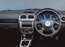 Фото авто Subaru Impreza 2 поколение, ракурс: рулевое колесо