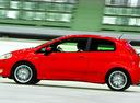 Фото авто Fiat Punto 3 поколение, ракурс: 90 цвет: красный