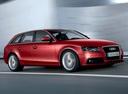 Фото авто Audi A4 B8/8K, ракурс: 315 цвет: красный