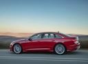 Фото авто Audi A6 C8, ракурс: 90 цвет: красный