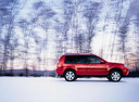 Фото авто Nissan X-Trail T30 [рестайлинг], ракурс: 270 цвет: красный