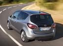 Фото авто Opel Meriva 2 поколение [рестайлинг], ракурс: 135 цвет: серебряный