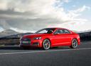 Фото авто Audi S5 F5, ракурс: 45 цвет: красный