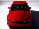 Фото авто Ford Mustang 5 поколение [рестайлинг], ракурс: сверху цвет: красный