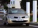 Фото авто Renault Megane 2 поколение [рестайлинг], ракурс: 315 цвет: бежевый