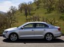 Фото авто Volkswagen Jetta 6 поколение [рестайлинг], ракурс: 90 цвет: серебряный