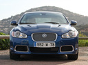 Фото авто Jaguar XF X250,  цвет: синий