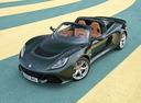 Фото авто Lotus Exige Serie 3, ракурс: 45 цвет: зеленый