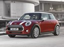Фото авто Mini Cooper F56, ракурс: 45 цвет: красный